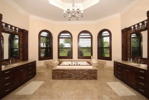 Equestrian Ranch House Master Bath